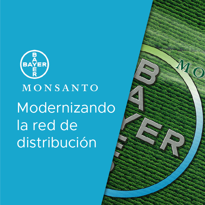Bayer/Monsanto: modernizando la red de distribución