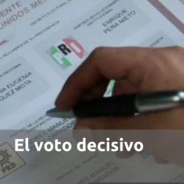 El voto decisivo